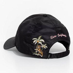 Vans Souvenir Black Strapback Hat